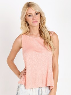 MinkPink Salt Sea Kisses Swing Tank Peach