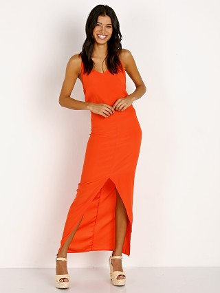 Acacia Nunu Dress Neon Lava