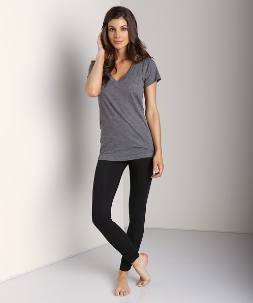 LNA Clothing Olivia Leggings Flat Black