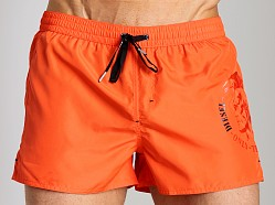 Diesel Coralrif Mohawk Swim Shorts Orange