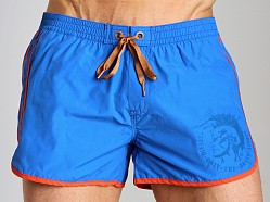 Diesel Reef Double Stripe Swim Shorts Blue