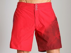Diesel Blans Swim Boxer Red