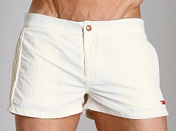 Diesel Coralrif Nylon Swim Shorts Butter