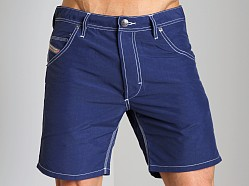 Diesel Kroobeach Nylon Board Shorts Deep Blue
