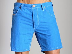 Diesel Kroobeach Nylon Board Shorts Blue