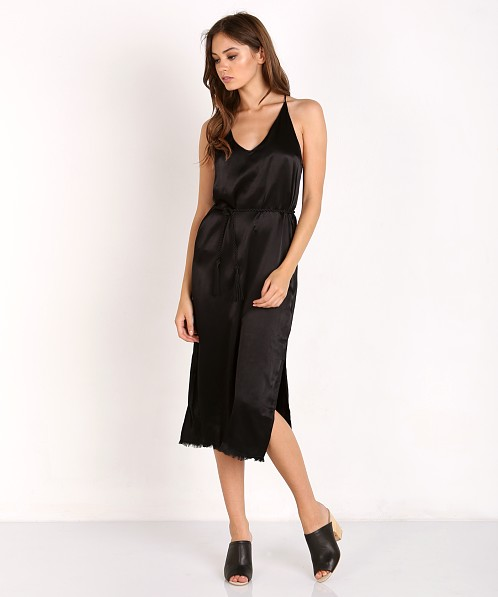 Faithfull the Brand East West Dress Plain Black