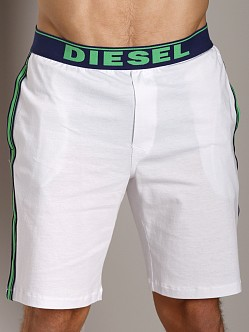 Diesel Fresh & Bright Hans Jersey Lounge Shorts White