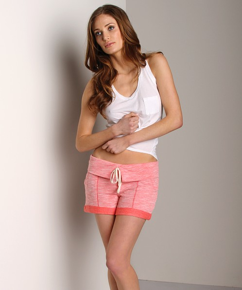 Splendid Hazy Drawstring Shorts Blaze