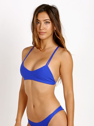 Mikoh Palm Beach Bikini Top Electric Eel