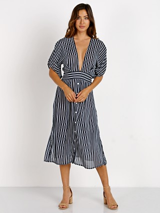 Faithfull the Brand Mustang Midi Serafina Stripe