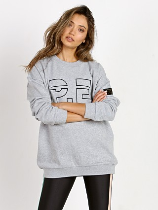 PE NATION Heads up Sweat Grey Marl