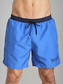 Hugo Boss Starfish Swim Shorts Bright Blue