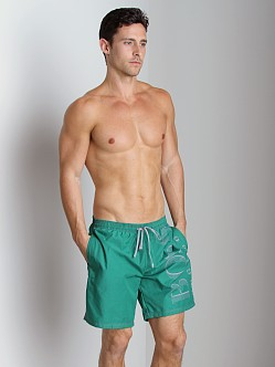 Hugo Boss Killifish Swimsuit Green