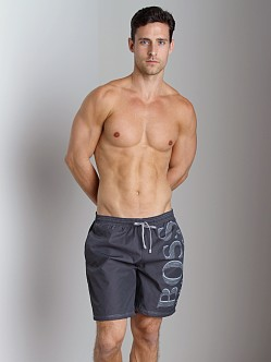 Hugo Boss Killifish Swimsuit Dark Grey