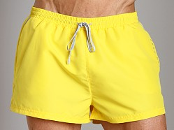 Hugo Boss Mooneye Swim Shorts Yellow