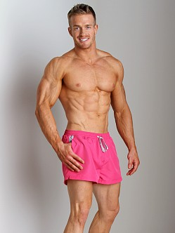 Hugo Boss Mooneye Swim Shorts Bright Pink