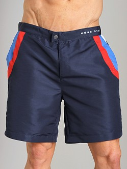 Hugo Boss Rainbowfish Swim Shorts Blue