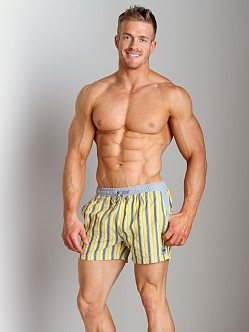Hugo Boss Goldeye Swim Shorts Yellow