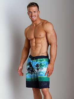 Hugo Boss Waryfish Board Shorts Turquoise