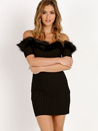 For Love & Lemons Bonbon Off Shoulder Dress