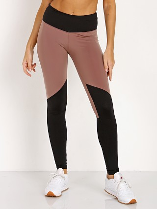 Track & Bliss Radiate Colorblock Legging Black Cocoa