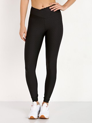 Track & Bliss Hexagon Jacquard Leggings Black