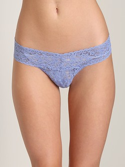 Hanky Panky Low Rise Thong Chambray