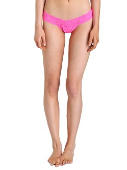 Hanky Panky Low Rise Thong Atomic Pink