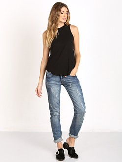 LNA Clothing Twiggy Tank Black