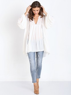 Free People Just The Two of Us Tunic Ivory