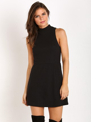 Free People Mary Jane Dress Black