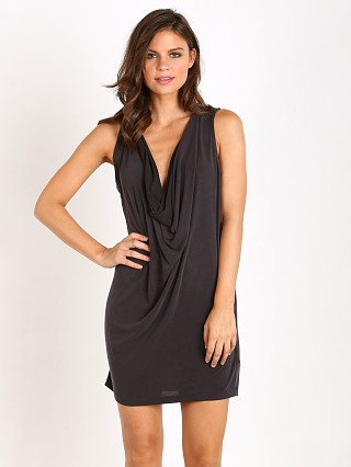 Free People Pillow Tank Mini Dress Black