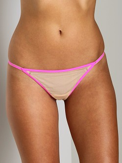 Cosabella New Soire 2 Tone Thong Blush/Shocking Pink