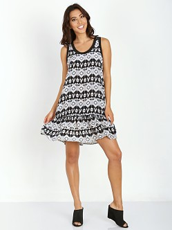 Tolani Jolie Dress Black Ikat