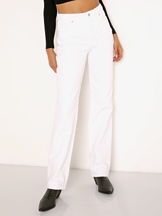 Rollas Classic Straight Jean Vintage White