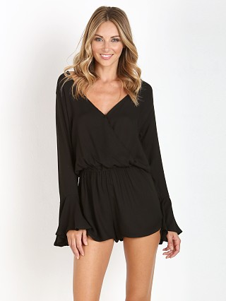 Indah Parnell Cocktail Romper Black