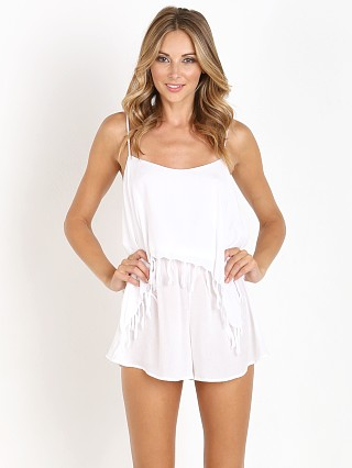 You may also like: Indah Kerala Fringe Flounce Romper White