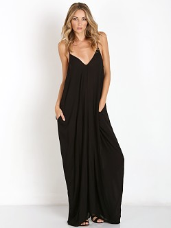 Indah Nala Simple Flow Maxi Black