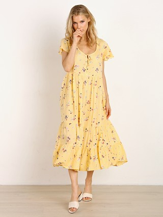 Auguste the Label Grace Midi Dress Lemon