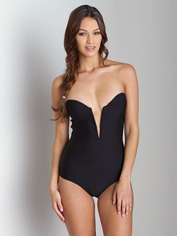 Beach Riot + Stone Cold Fox Gally Cook One Piece Black