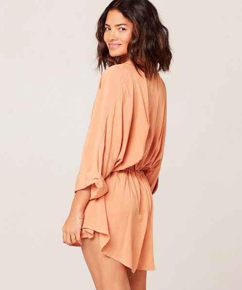 L Space Pacifica Tunic Toasted