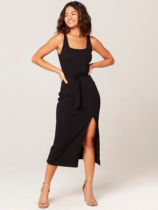 L Space Palm Beach Dress Black