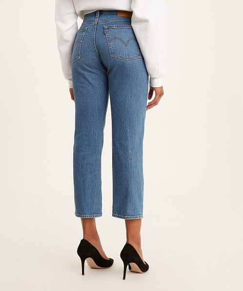 Levi's Wedgie Straight Jeans Jive Sound