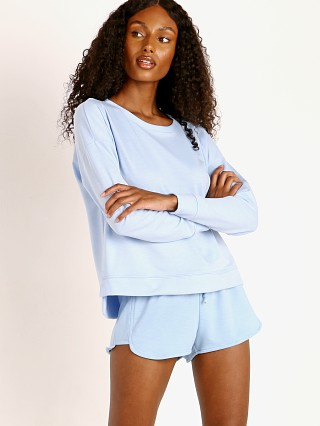 Onzie High Low Sweatshirt Light Blue