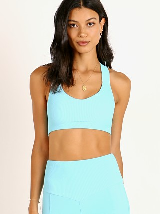 You may also like: Onzie Half Moon Sports Bra Cyan Rib