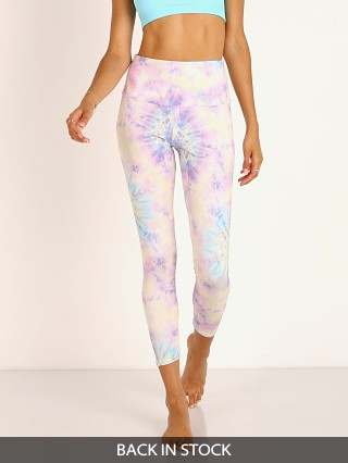 Onzie High Basic Midi Legging Neon Tie Dye
