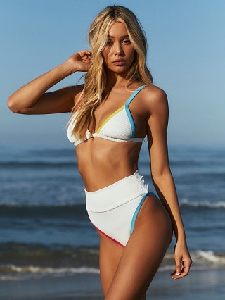 Complete the look: Beach Riot Highway Bikini Bottom White