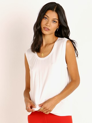 Model in off white Splits59 Lexi Jersey Tank