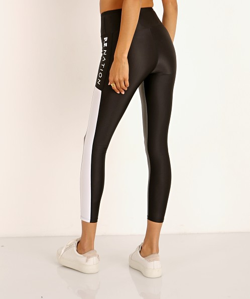 PE NATION Side Runner Legging Pewter