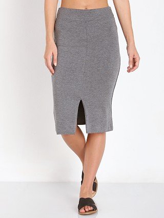 LNA Clothing Harley Slit Skirt Marengo